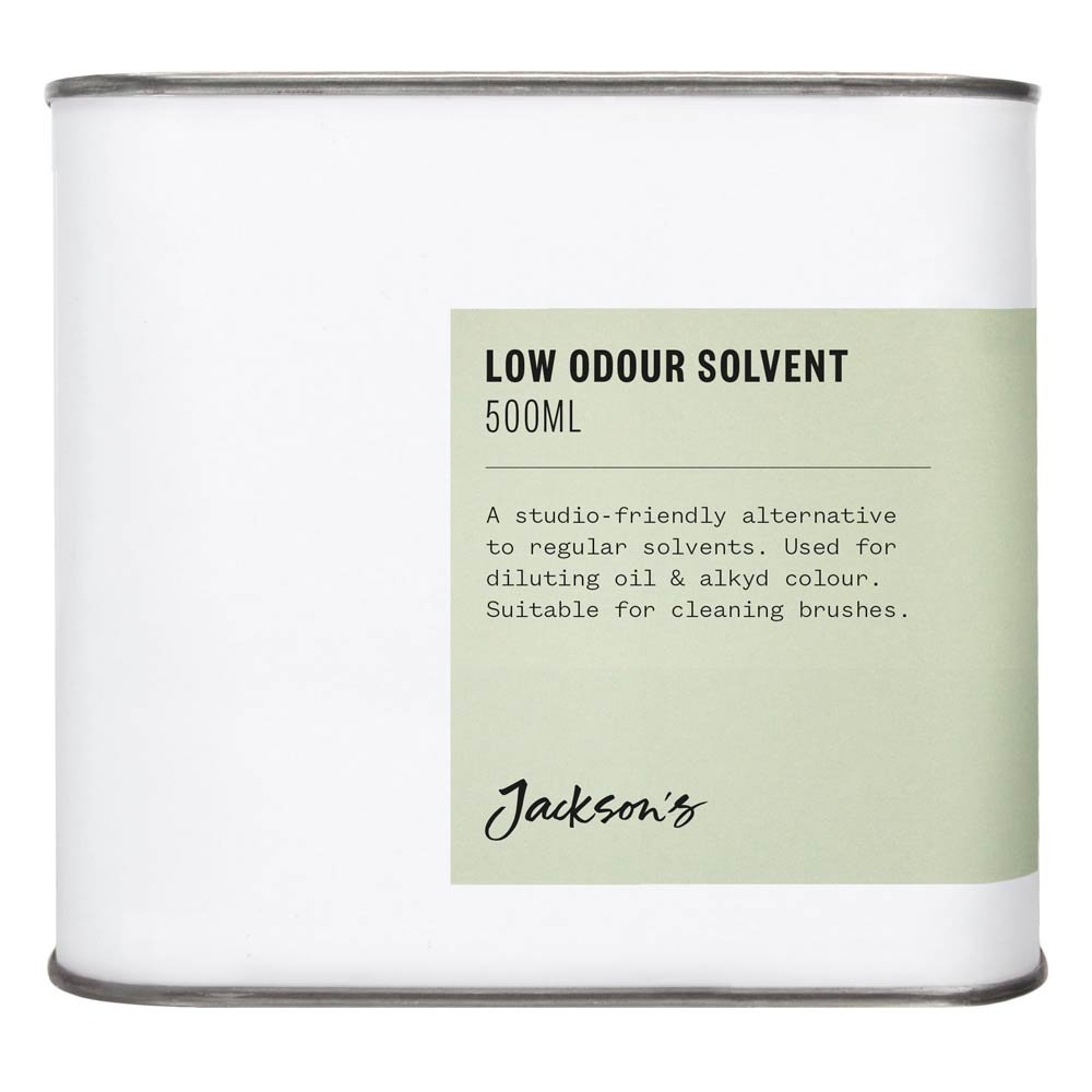 Jackson's : Low Odour Solvent 500ml : By Road Parcel Only Jackson's