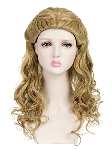 EDENKISS Women's Premium Wig With Simulation Scalp Hairpiece (Cinderella MC6031 18#24#) by EDENKISS