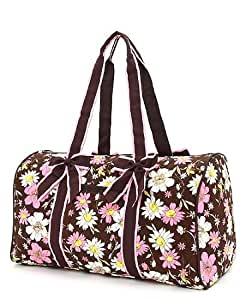 Amazon.com Quilted Floral Large Duffle Bag (BRPK) Baby