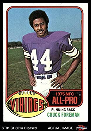 big sale aa2a9 024fb Amazon.com: 1976 Topps # 400 Chuck Foreman Minnesota Vikings ...