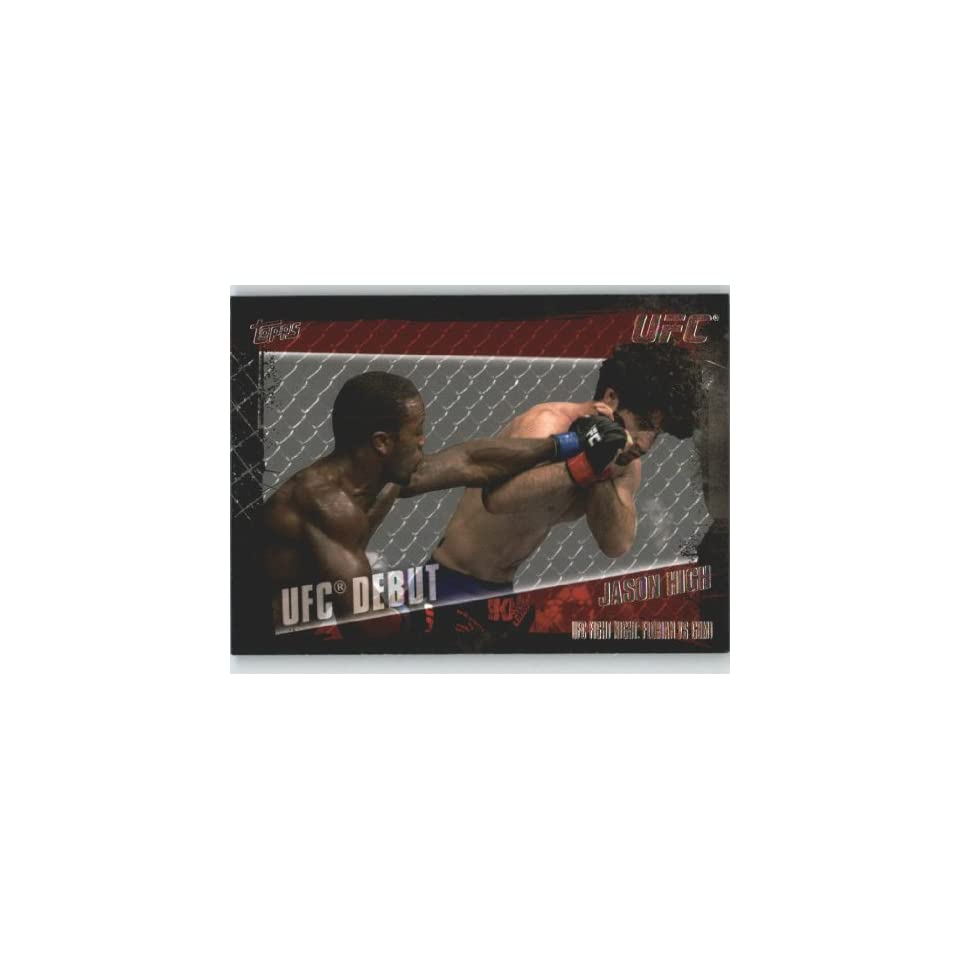 2010 Topps UFC Trading Card # 164 Jason High (Ultimate