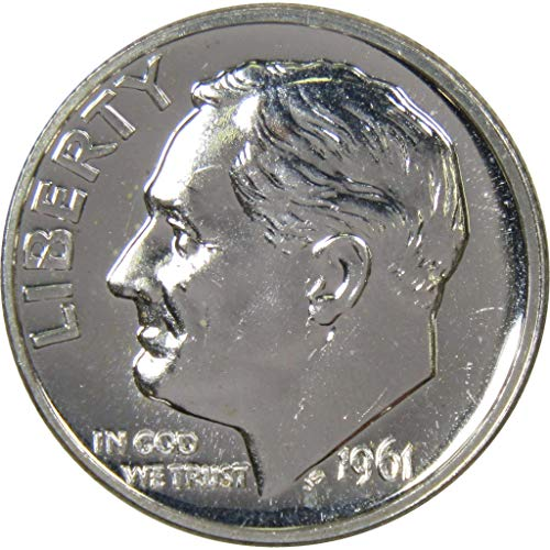 1961 10c Roosevelt Silver Dime Choice Proof