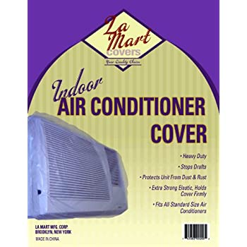 Amazon Com Indoor Vinyl Window Air Conditioner Cover W