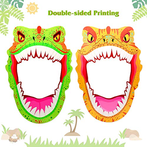 o Booth Props Frame Dino Kids Birthday T-Rex Roar Party Supplies ()