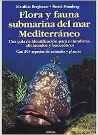 FLORA Y FAUNA SUBMARINA MAR MEDITERRANEO GUIAS DEL