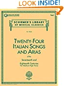 #6: 24 Italian Songs and Arias: Medium High Voice (Book, Vocal Collection)