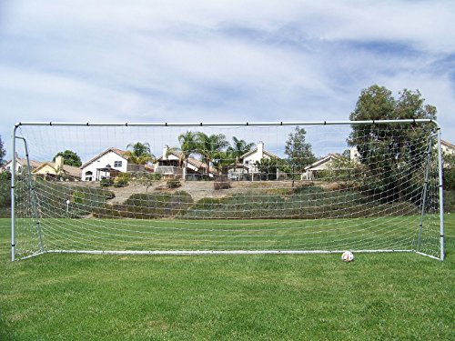 Official Youth Modified Size 21 X 7 X 5 Ft. Steel Soccer Goal. Heavy Duty Frame w/ Net. Regulation Youth Modified FIFA/MLS League Size Goal. Portable Practice Training Aid. 21 X 7, 21x7 Soccer Goal by Pass