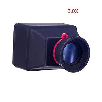 Viewfinder - 3 x 3,2 x cámara de mano sin espejo para disparo al ...