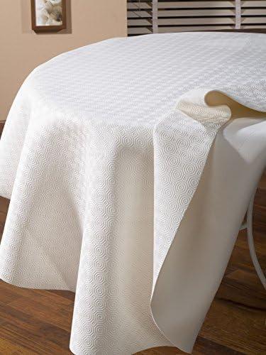 Calitex - Protector de mesa ovalado Caligomme de 135 x 190 cm ...