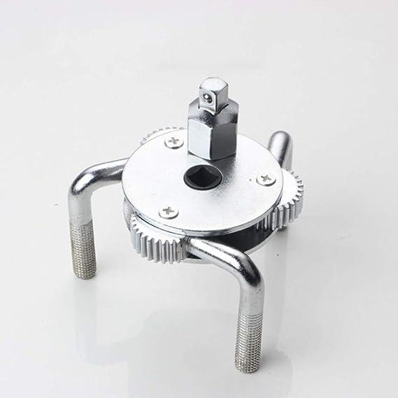 Llave de Filtro de Aceite port/átil de 3 mand/íbulas para reparaci/ón de Motocicletas y Coches qhtongliuhewu