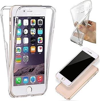 HQ-CLOUD® Coque Gel 360 Protection Integral Transparent Invisible pour Apple IPHONE 5C
