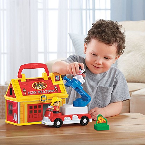 Little People Take-Along Fire Station