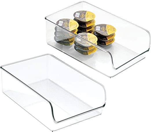 InterDesign Linus Organizador para la cocina, caja organizadora de ...
