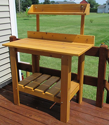 Infinite Cedar Premium Quality Potting Table by Infinite Cedar (Image #1)