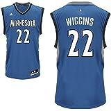 Andrew Wiggins Minnesota Timberwolves #22 NBA Youth Replica Road Jersey Blue