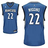 Andrew Wiggins Minnesota Timberwolves #22 NBA Youth Replica Road Jersey Blue (Youth Small 8)