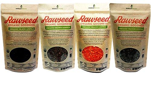Rawseed Organic Certified Lentils Orange product image