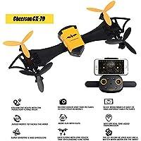 CX-70 Micro RTF WIFI FPV Quadcopter Wearable Drone with HD Camera Detachable Arms Quadcopter G-Sensor Selfie Drone
