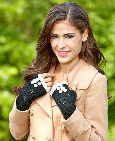 button-lace-trim-fingerless-gloves-black