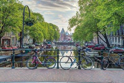Assaf Frank - Amsterdam By Assaf Frank Poster Rolled 36 x 24  PSA034197
