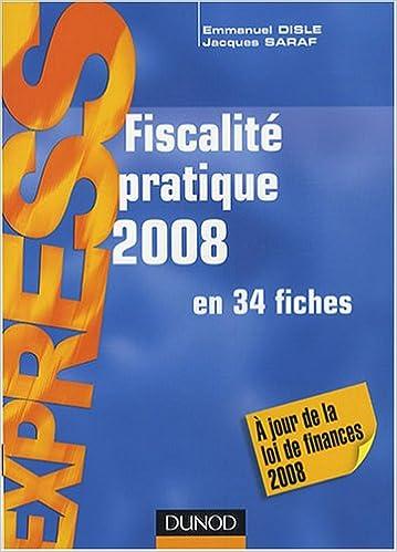Livre gratuits en ligne Fiscalité pratique en 34 fiches pdf ebook