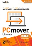 Software : Laplink PCmover Ultimate 11 with Ethernet Cable (1 Use) - The easiest way to move to a new PC!