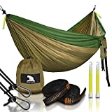 We call it a camping hammock, but we would be remiss if we didn't humbly suggest that it is also perfect for hiking, travel, back-woods adventuring, backpacking, campus lounging, boating, beach going or backyard relaxation.This highly portable ham...
