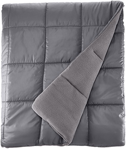 Northpoint 14571 Pacific Crest, Quited Down Alternative Outdoor Throw,Gray (Down Alternative Throw)