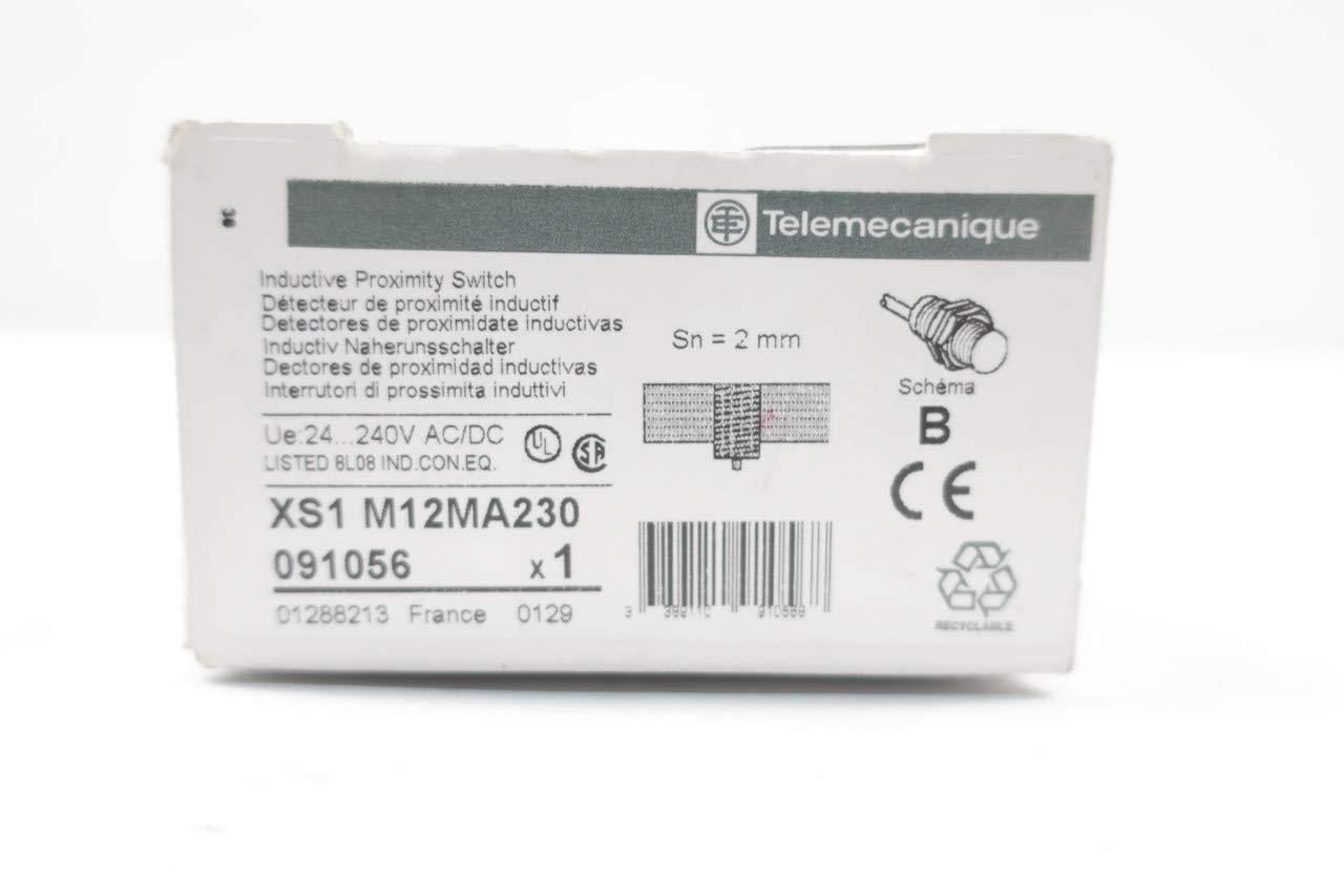 TELEMECANIQUE XS1 M12MA230 Proximity Sensor 24-240V-AC D652667: Amazon.com: Industrial & Scientific