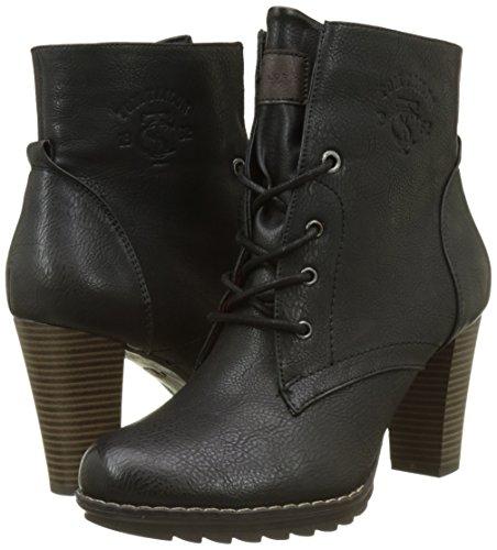 3790403 black Tailor Tom Femme Noir Bottines Classiques 5YAnYaUqFx