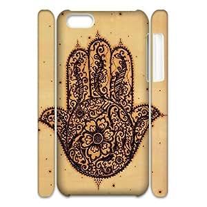 LJF phone case Evil Eye Hamsa Customized 3D Cover Case for iphone 5/5s,custom phone case ygtg611265