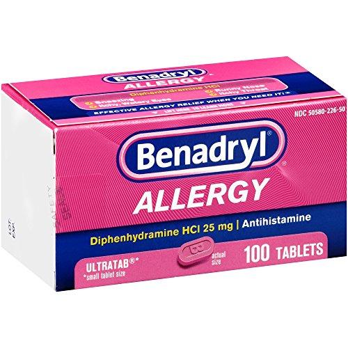 Antihistamine Drugs Benadryl Ultratab Anti...