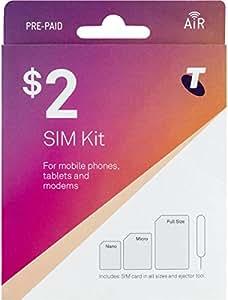 Amazon.com: Telstra tarjeta SIM de prepago – 3 G 4 G LTE ...