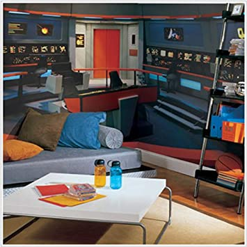 Star Trek Enterprise Bridge XL Wall Mural   9u0027 X ... Part 3