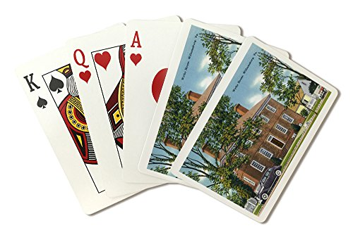 Williamsburg, Virginia - Exterior View of the Wythe House (Playing Card Deck - 52 Card Poker Size with Jokers) ()