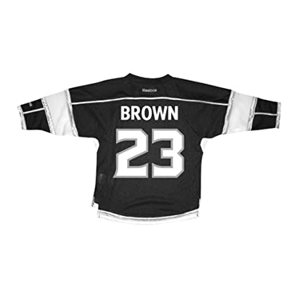 a8f58df9245d Reebok Little Boys LA Kings Dustin Brown Toddler Home Replica Jersey 2T-4T  Black