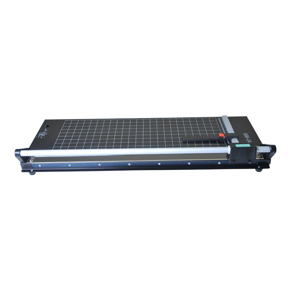 US Stock - 24 Inch Manual Precision Rotary Paper Trimmer, Sharp Photo Paper Cutter, Rotary Paper Cutter Trimmer