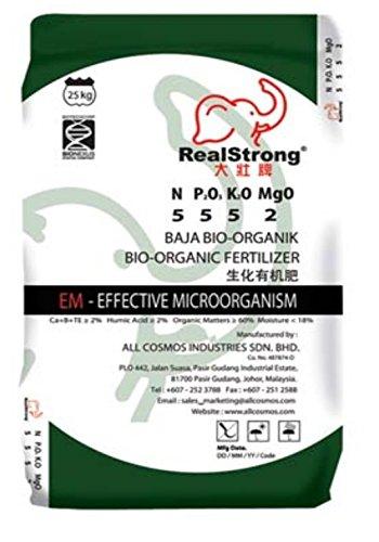 Amazon.com: 3 en 1 bio-organic Fertilizantes 5 – 5-5 (60 ...