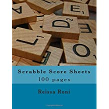 Scrabble Score Sheets: 100 pages