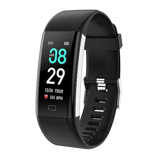 Montre Connectée Bluetooth Montre Intelligent de Sport pour iPhone et Android, F07Max Écran Couleur Haute