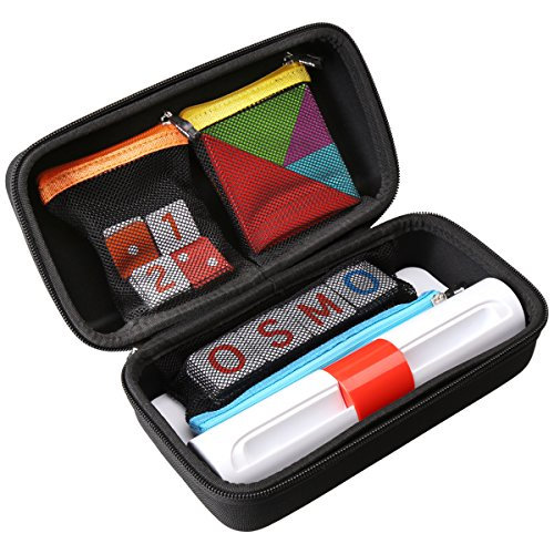 Aproca Hard Travel Storage Carrying Case Compatible Osmo Genius Kit (Black)