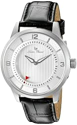 Lucien Piccard Watches Grotto Leather Band Watch