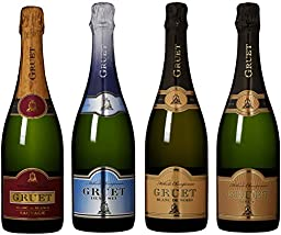 Gruet Spectacular Sparkling Pairings Mix Pack, 4 x 750 mL