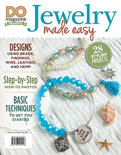 DO Jewelry Made Easy (Design Originals) 28 Stylish DIY Projects with Step-by-Step Instructions for Necklaces, Earrings, Bracelets, Rings, and More using Beads, Findings, Wire, Hemp, and Leather