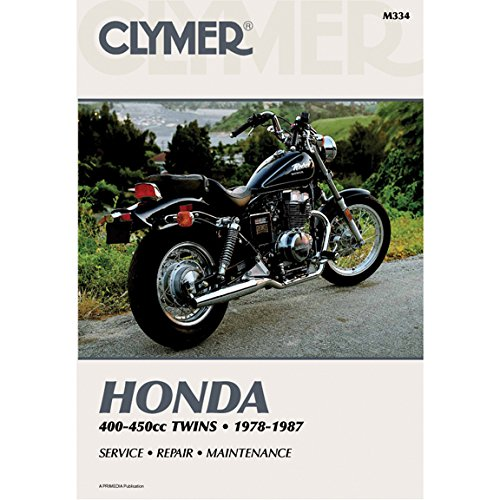 Clymer Repair Manual for Honda 400-450 Twin 78-87