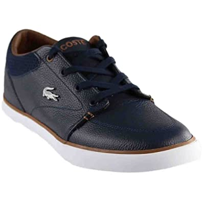 b358eeab6101 Lacoste Men s Bayliss Vulc 317 US CAM Navy Brown 7 M ...