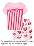 Kyпить Choco Moon Little Boys Girls Gift Snug-Fit Pajamas 100% Cotton Pink Pjs Clothes Kid 4T на Amazon.com