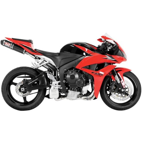 Yoshimura RS-5 Carbon Fiber Full System Exhaust with Cone End Caps for 2009-201 - One Size