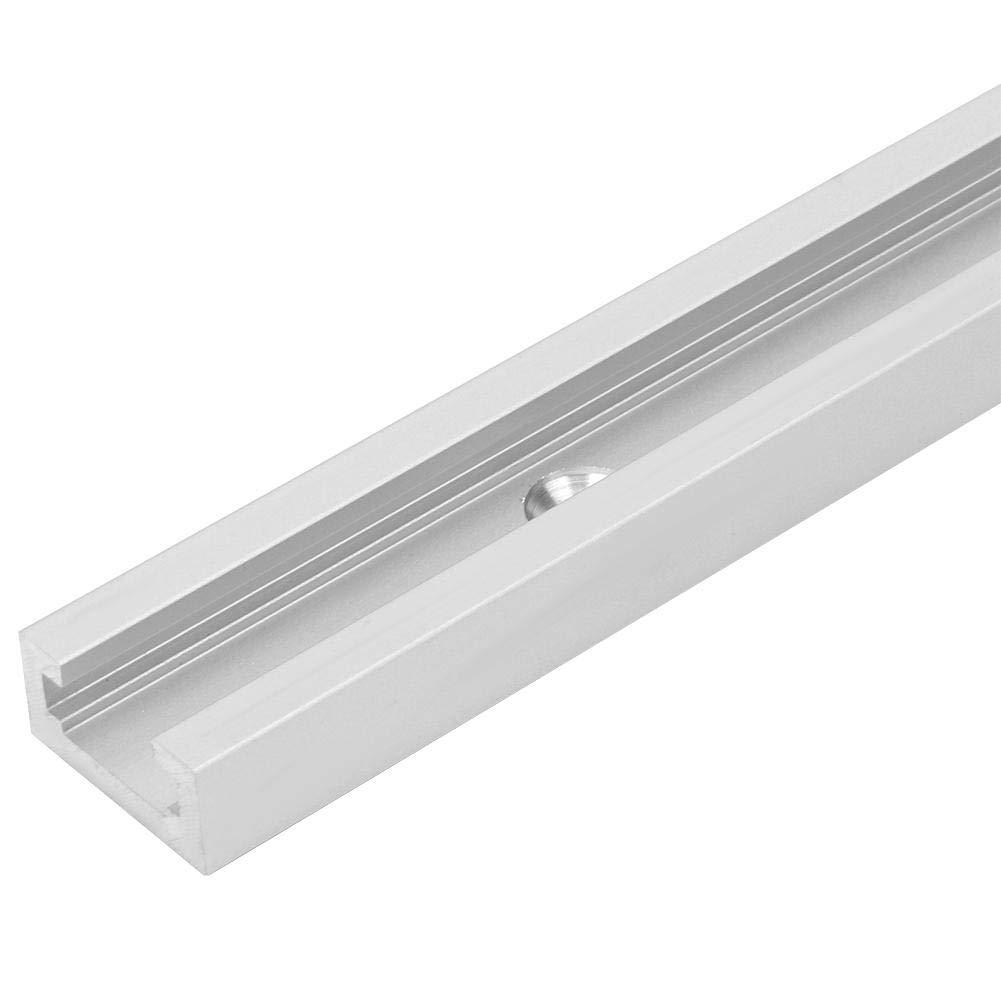 Zerone Aleaci/ón de aluminio T-Slot Mitre Track Jig Herramienta de carpinter/ía de losa deslizante no porosa 1220 mm // 48 pulgadas