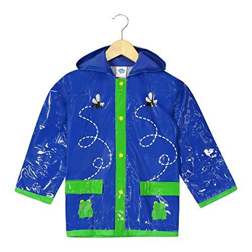 (Little Boy's Green Frog Rain Coat - Size 2T)